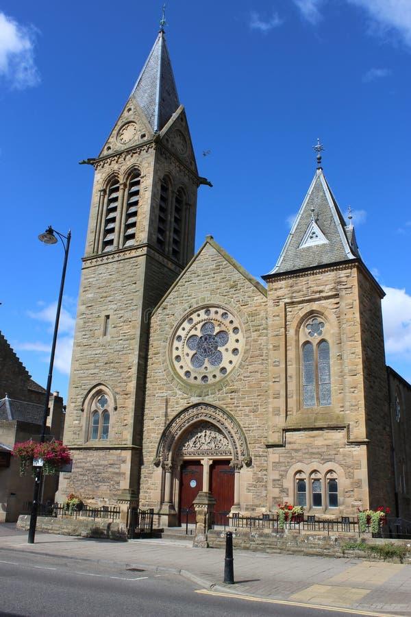 Cupar Baptist Church, Bonnygate, Cupar, Fife foto de archivo libre de regalías