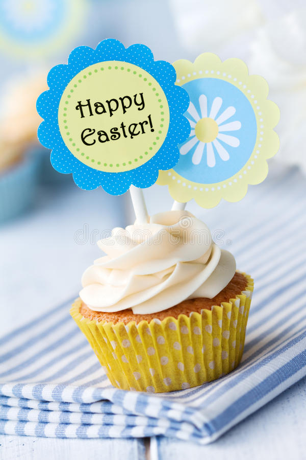 cupcake Πάσχα στοκ φωτογραφία με δικαίωμα ελεύθερης χρήσης