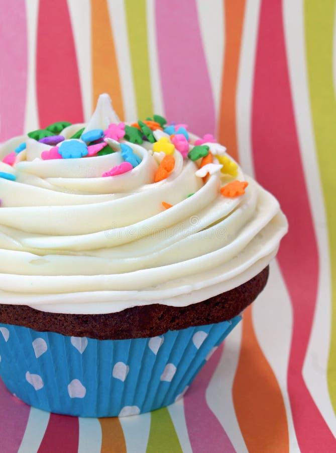 cupcake συμβαλλόμενο μέρος στοκ εικόνα
