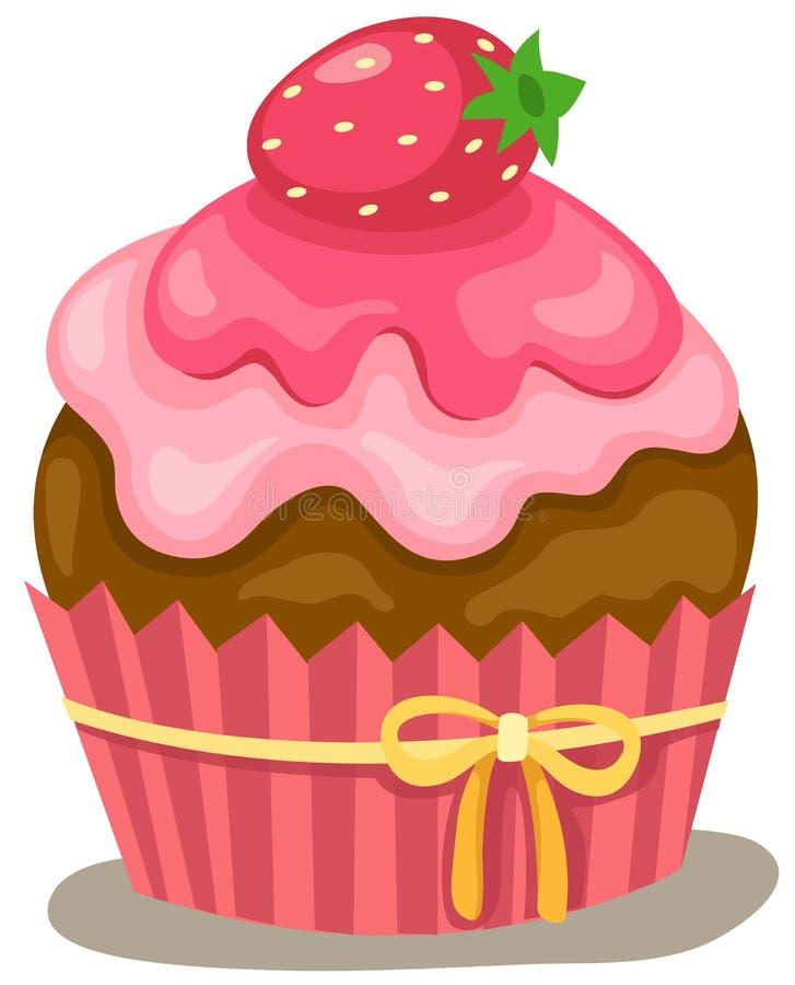 Cupcake vector illustratie