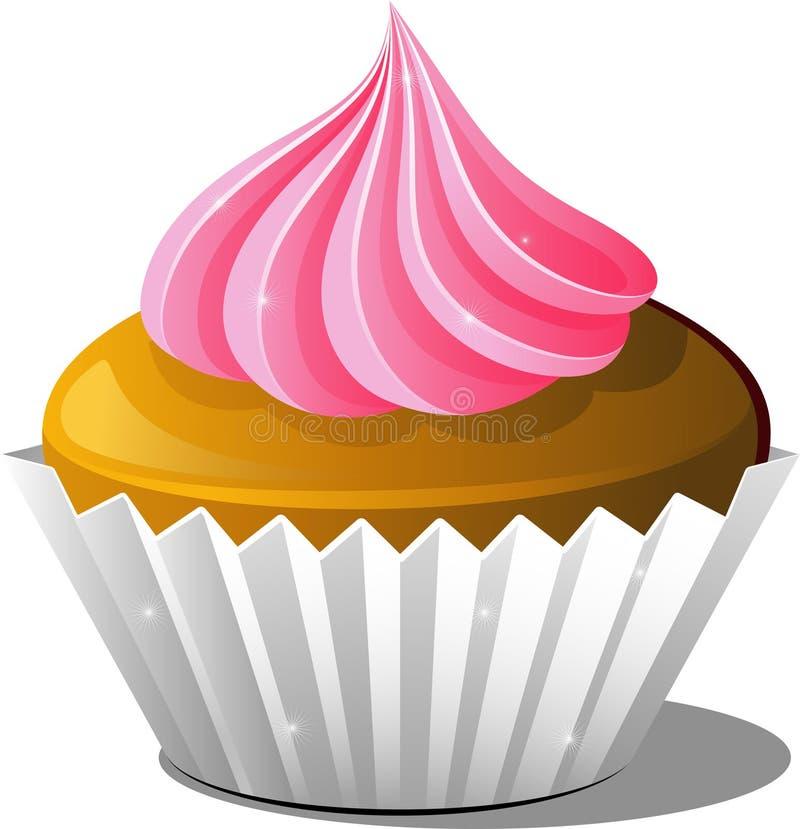 Cupcake royalty-vrije illustratie