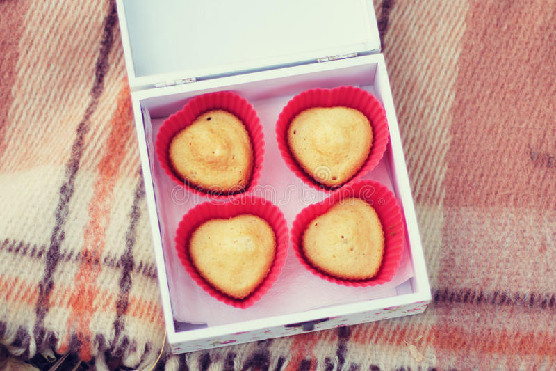 Cupcake stock afbeelding