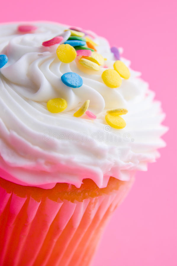 Download Cupcake stock image. Image of decorated, snack, macro - 23161869