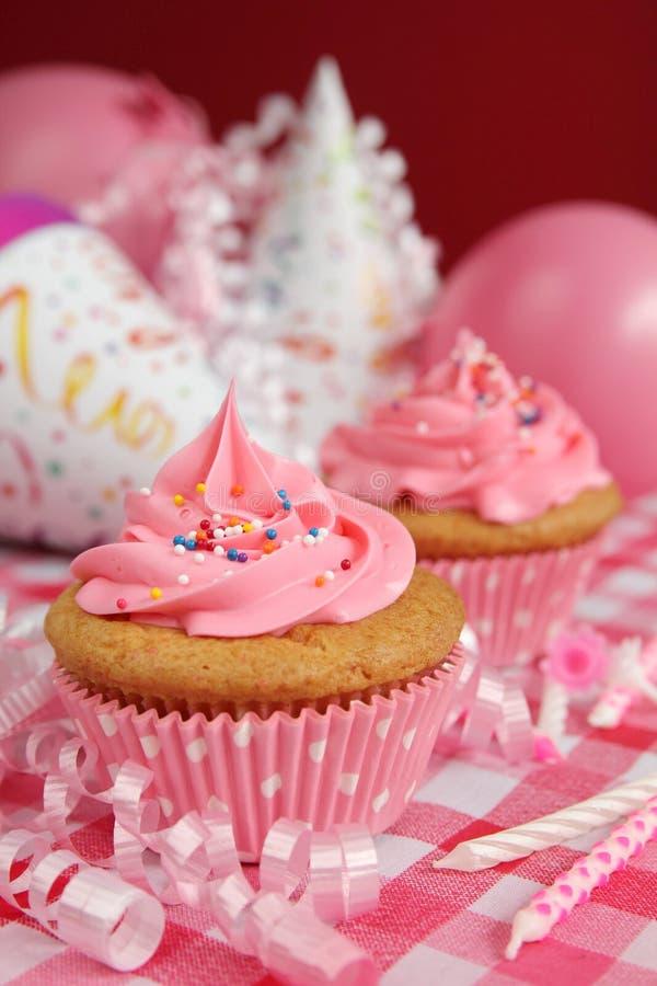 Download Cupcake stock photo. Image of cream, ballounes, muffins - 25955578