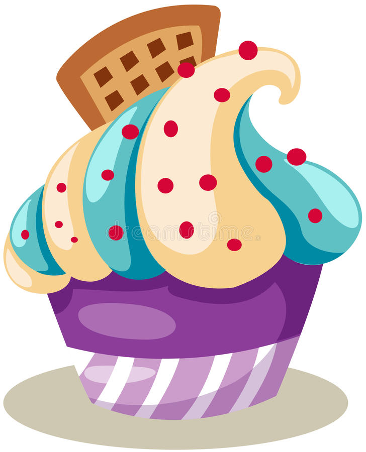Download Cupcake stock vector. Illustration of isolated, dessert - 26327599