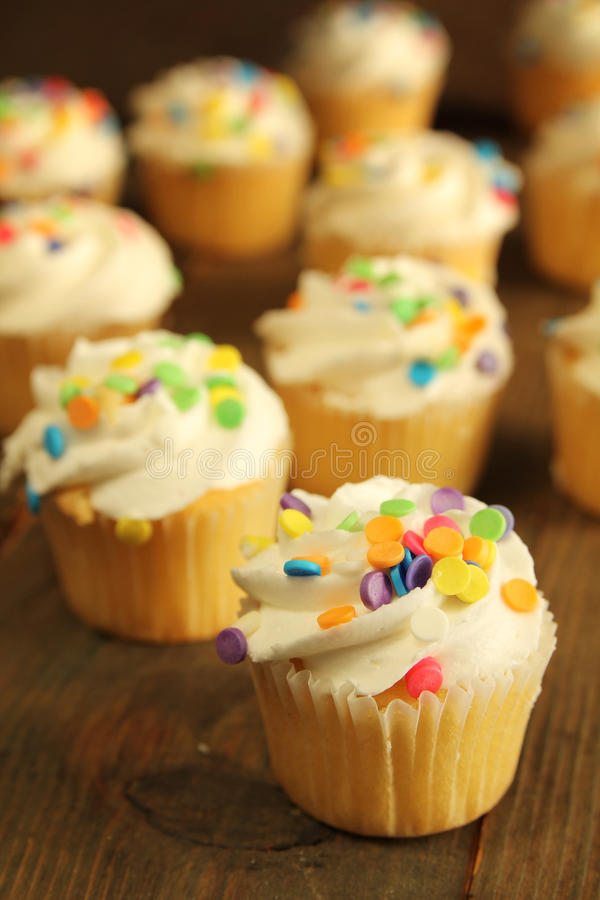 Download Cupcake stock image. Image of muffin, orange, tasty, goods - 27787941