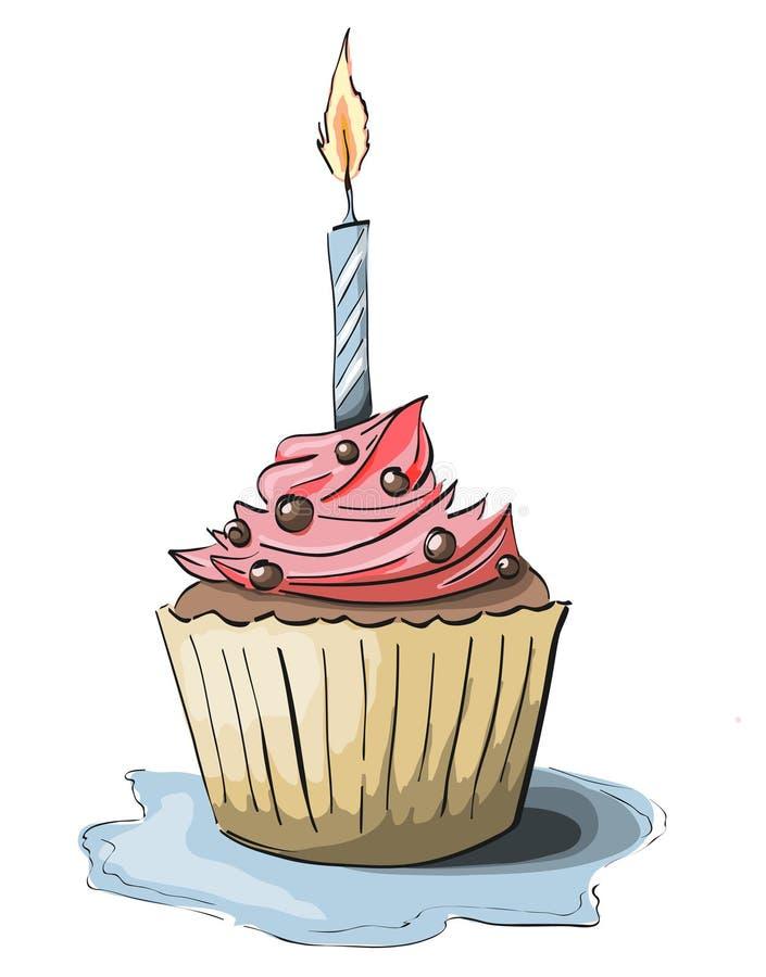 Cupcake royalty free illustration