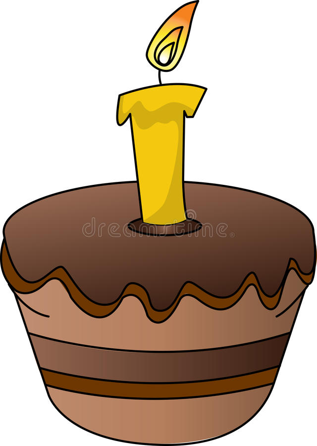 cupcake illustration stock