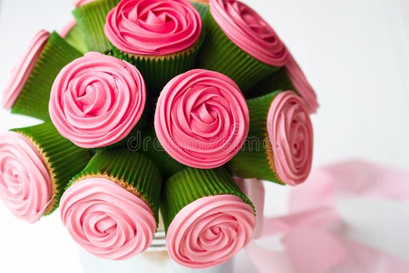 Download Cupcake bouquet stock photo. Image of pink, sweet, baking - 22253888