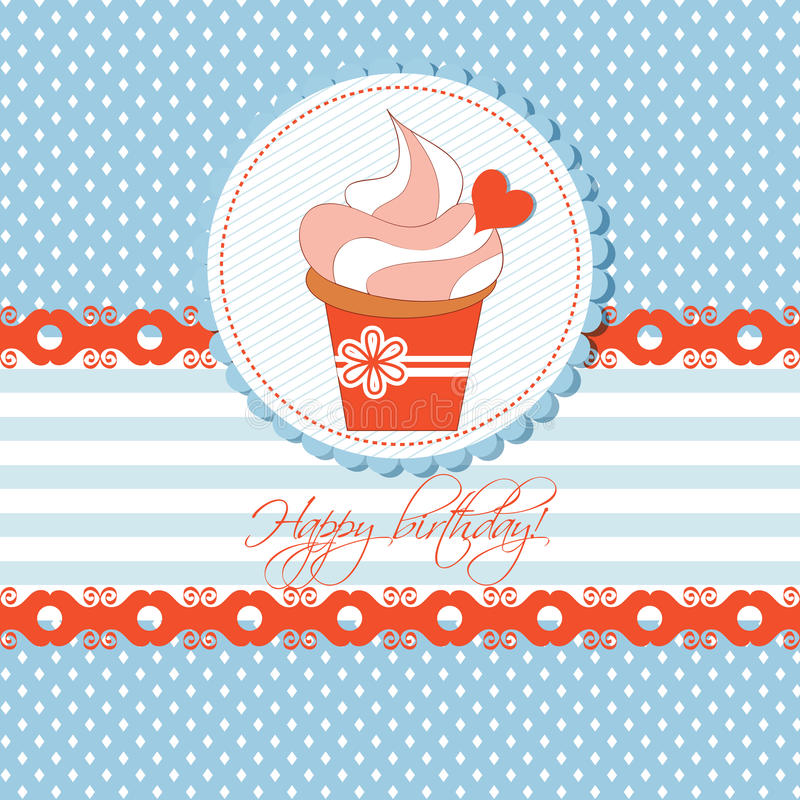 Download Cupcake Card Stock Images - Image: 21825194