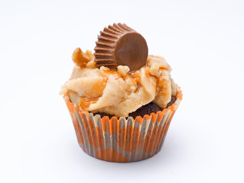 Cupcake met mani royalty-vrije stock foto