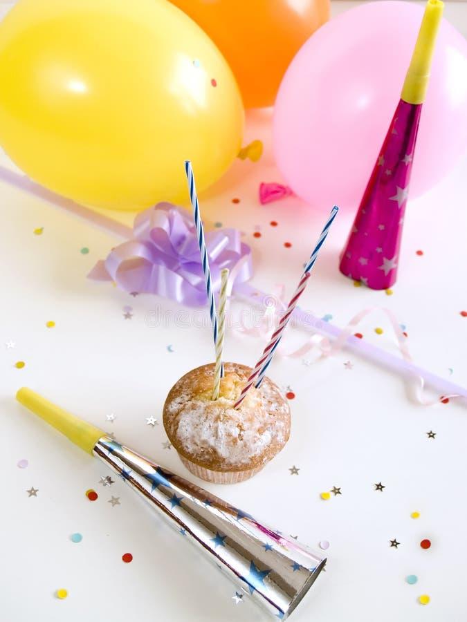Cupcake party stock photos
