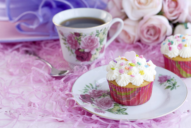Cupcake Party royalty free stock images