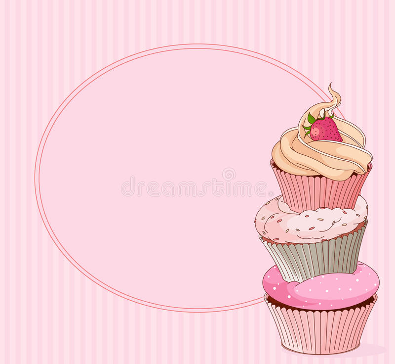 Download Cupcake Place Card Royalty Free Stock Photo - Image: 31092715