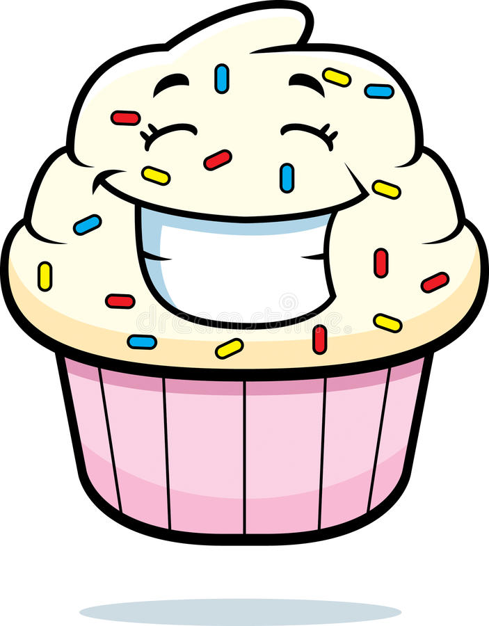Download Cupcake Smiling stock vector. Illustration of cupcake - 11301678