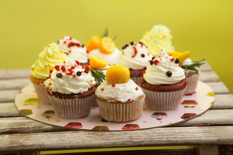 Cupcake_stock_3 стоковые изображения rf
