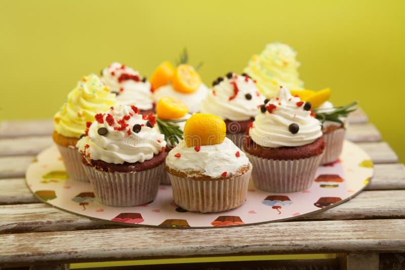 Cupcake_stock_3 στοκ εικόνες με δικαίωμα ελεύθερης χρήσης