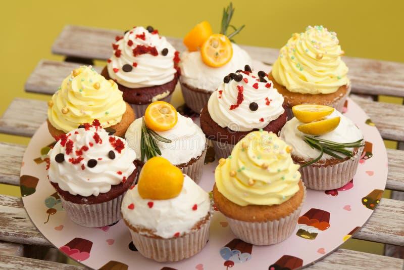 Cupcake_stock_4 стоковые изображения