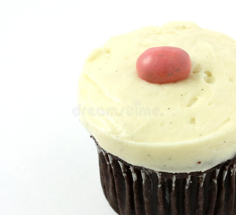 Download Cupcake With Vanilla Frosting Stock Image - Image: 13769673