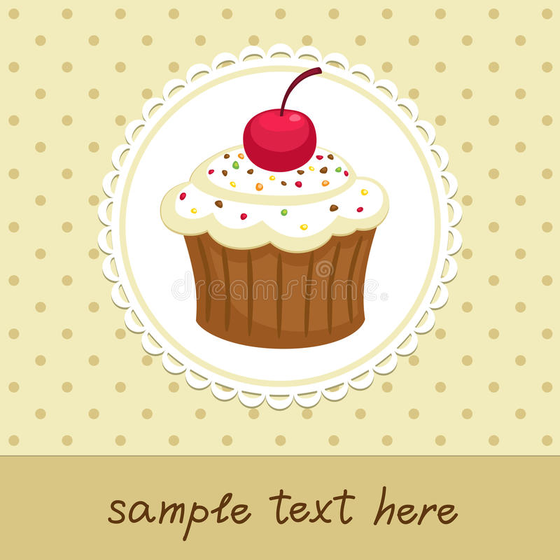 Download Cupcake stock vector. Image of bakery, element, design - 32381179