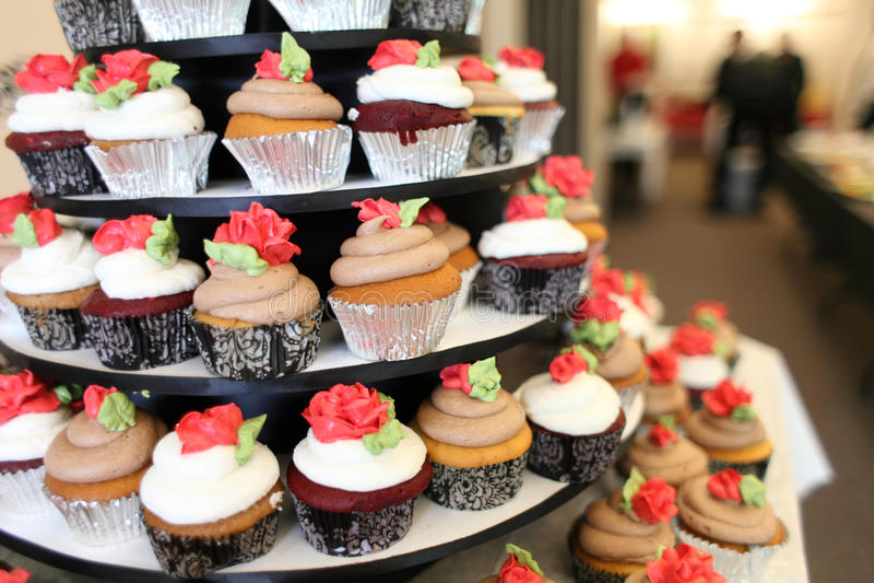 cupcakes γαστρονομικός διάφορ&omicron στοκ φωτογραφίες με δικαίωμα ελεύθερης χρήσης