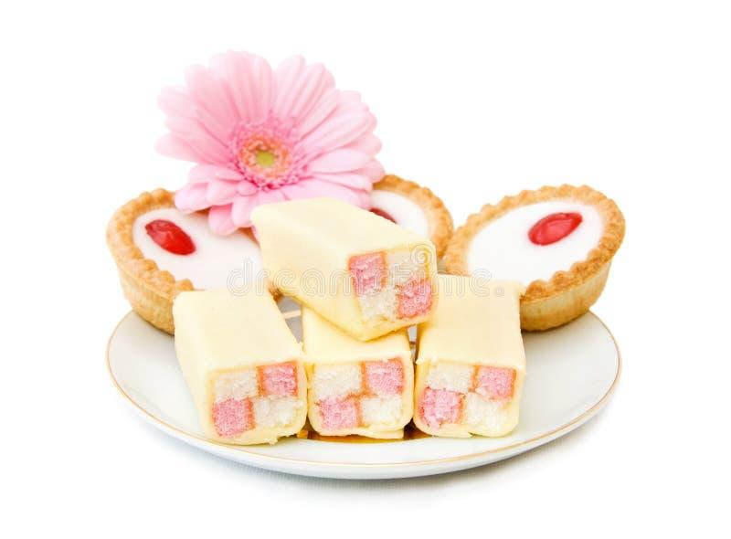 cupcakes γλυκά στοκ φωτογραφία
