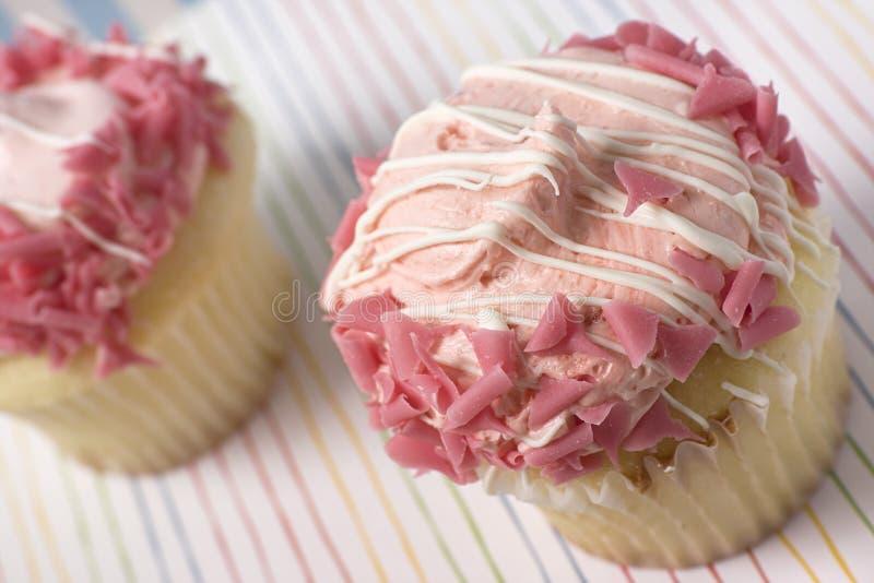 cupcakes ροζ στοκ εικόνες με δικαίωμα ελεύθερης χρήσης
