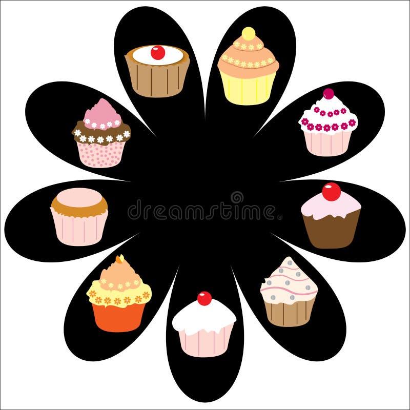 Cupcakes food treat stock photography