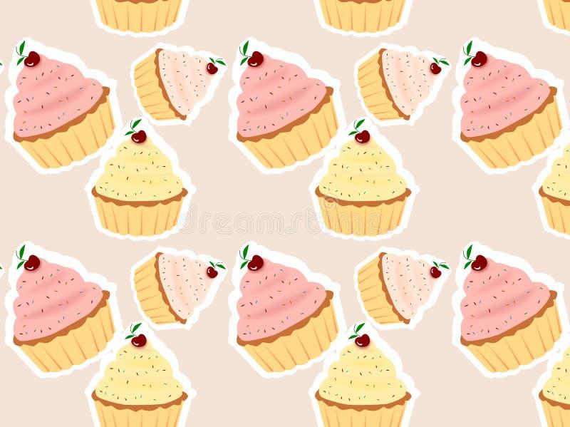 cupcakes απεικόνιση αποθεμάτων