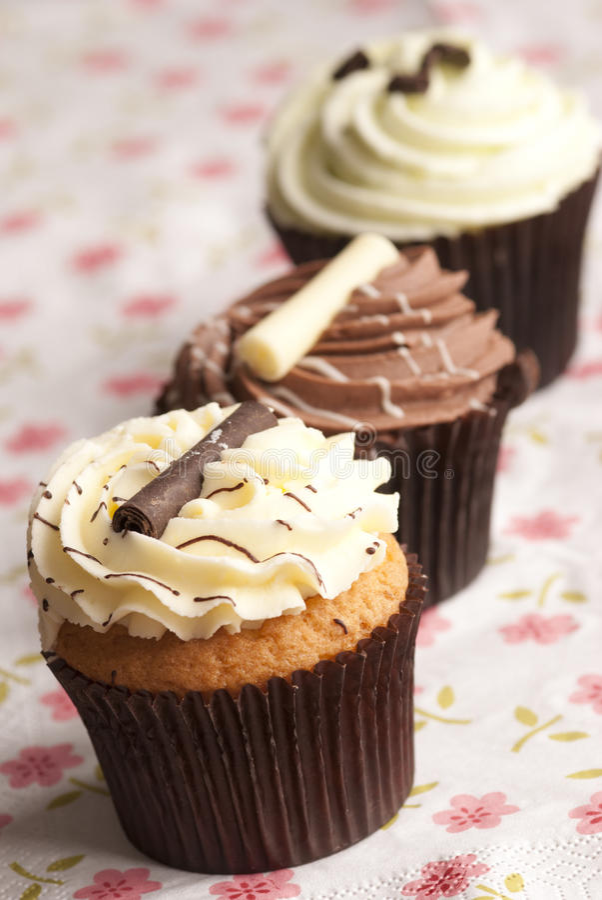 Free Cupcakes Royalty Free Stock Photos - 18351568