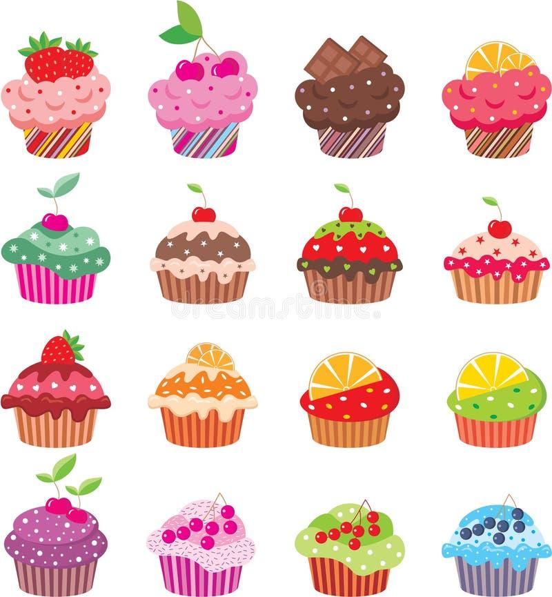 cupcakes ελεύθερη απεικόνιση δικαιώματος