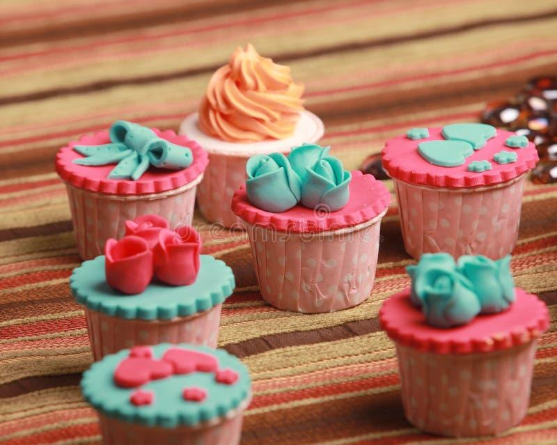 Cupcakes royalty-vrije stock foto