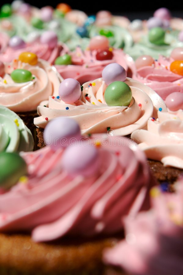 Download Cupcakes stock photo. Image of children, brown, delicious - 3752090
