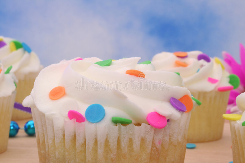 Download Cupcakes stock image. Image of sweet, tasty, bows, cupcakes - 3778961