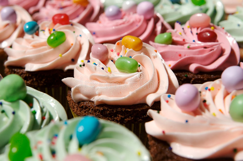 Download Cupcakes stock image. Image of cheerful, black, chocolate - 3789357