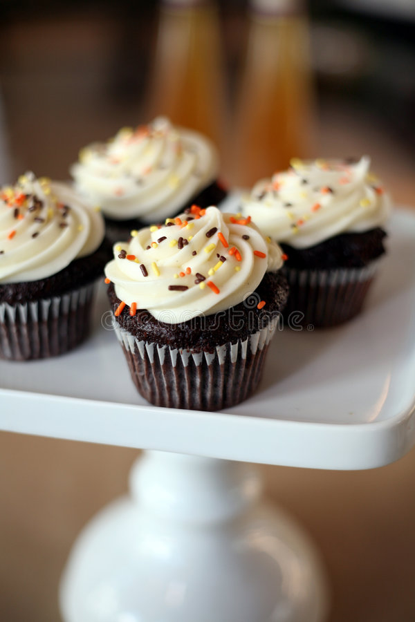 Free Cupcakes Royalty Free Stock Photography - 4084837