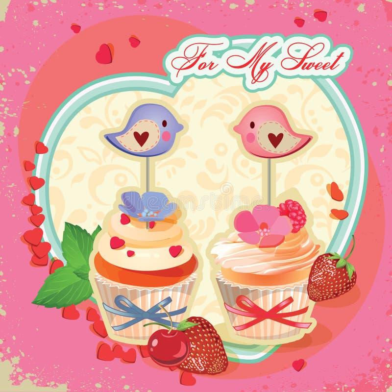cupcakes royalty illustrazione gratis