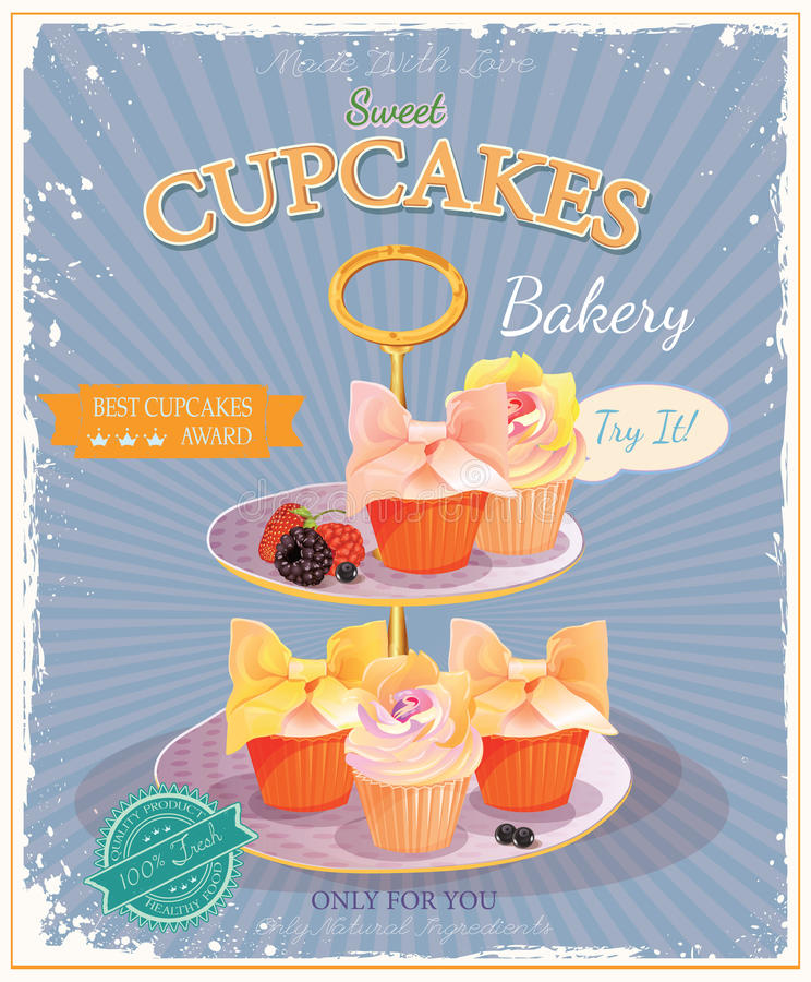 cupcakes royalty illustrazione gratis