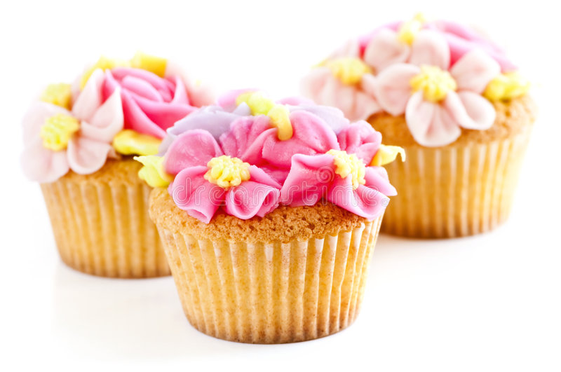Download Cupcakes stock photo. Image of desserts, paper, cups, frosted - 8516054