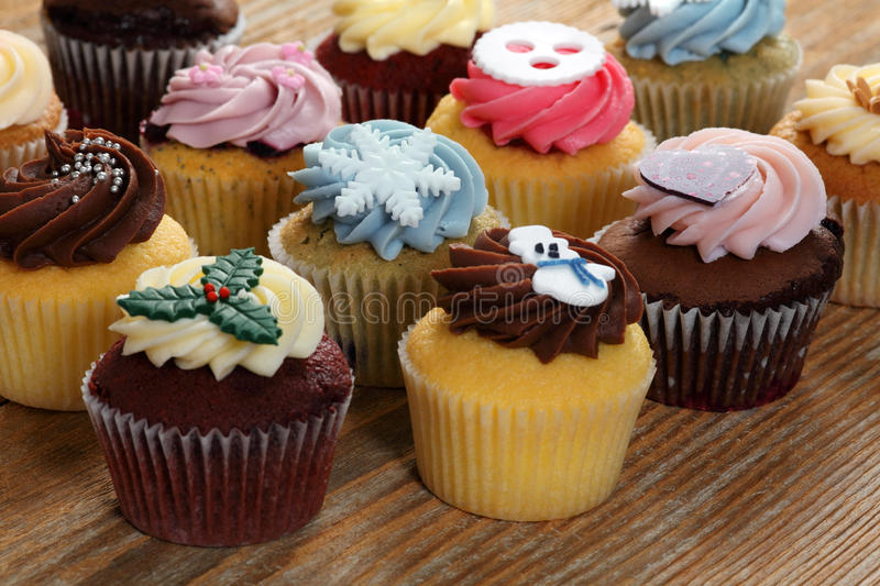 Download Cupcakes for the holidays stock photo. Image of gourmet - 28317560
