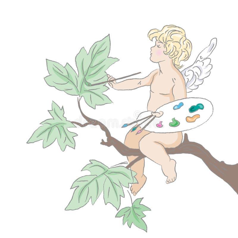 cupid απεικόνιση αποθεμάτων