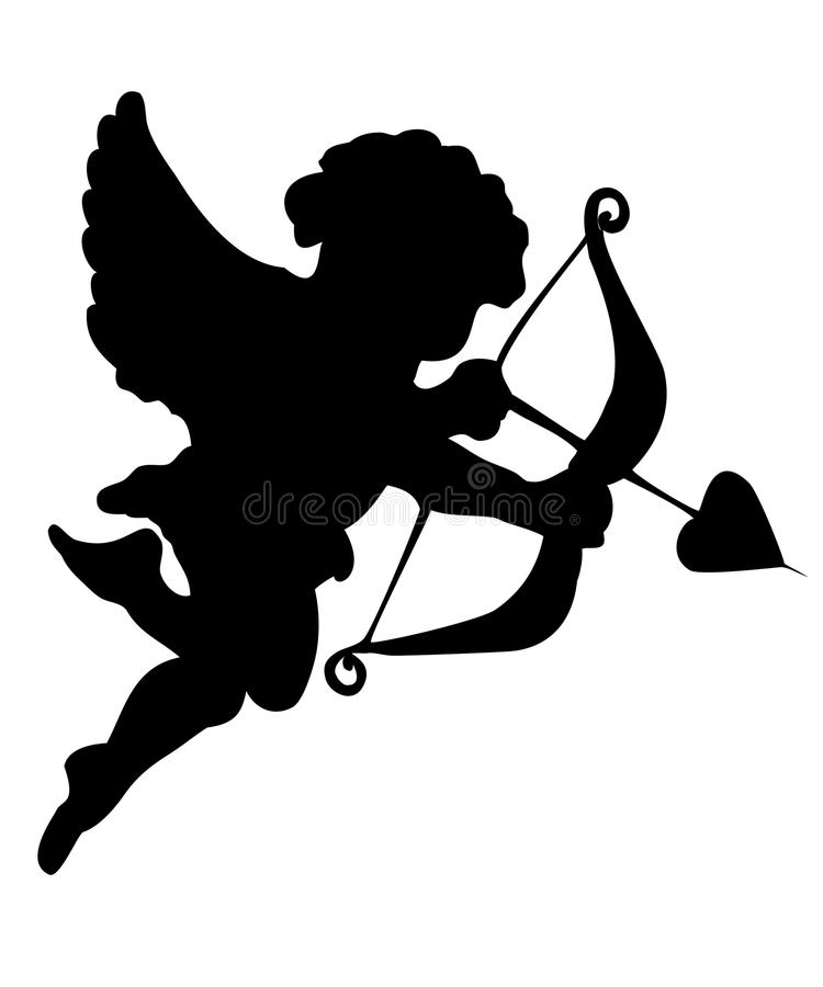 cupid vektor illustrationer