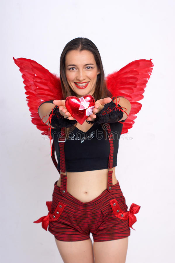 Cupid fotografia stock