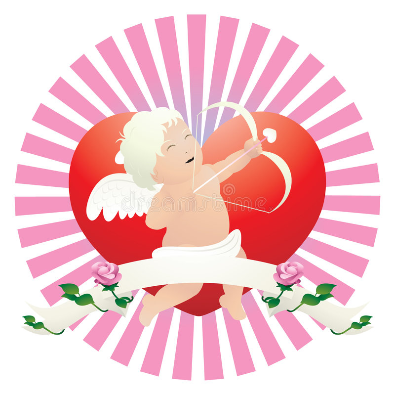 Download Cupid stock vector. Illustration of infant, grow, love - 1684201