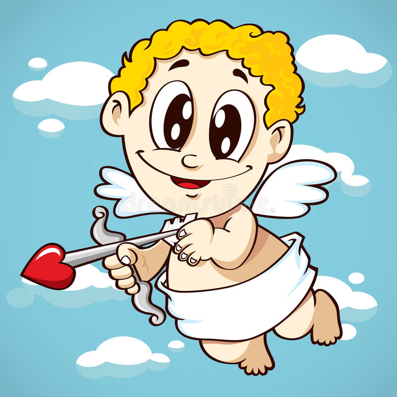 Cupid ilustración del vector