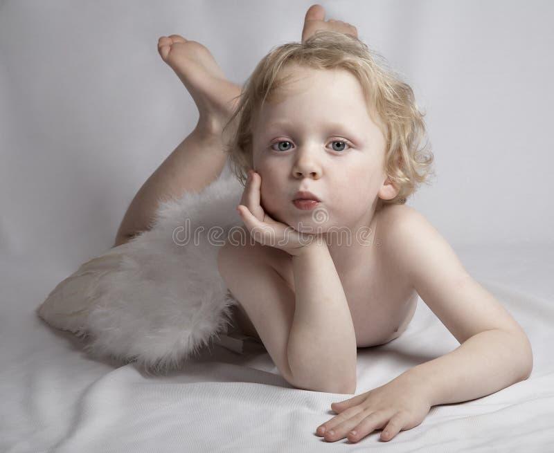 Cupid stock photo
