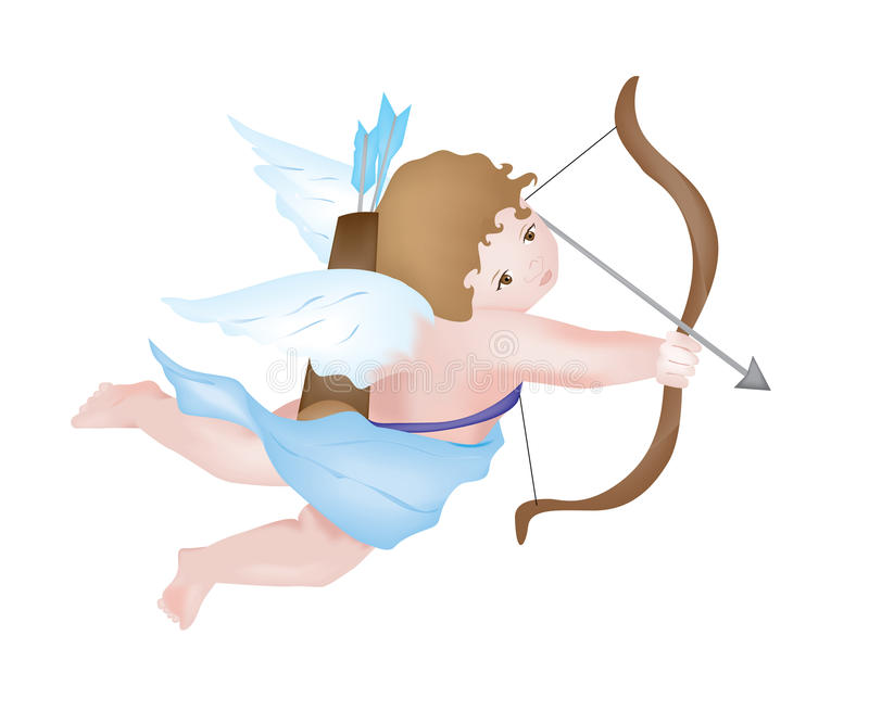 cupid stock illustrationer