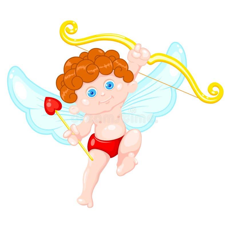 Cupid bonito ilustração royalty free