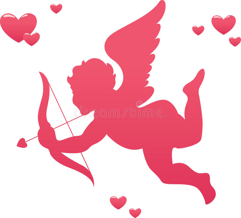 Cupid di amore illustrazione di stock