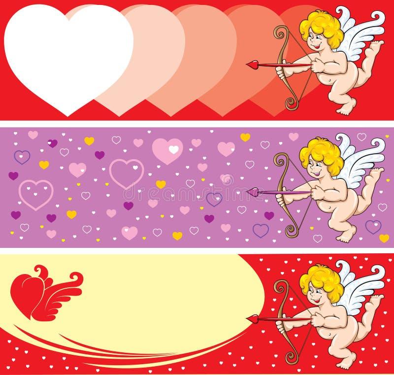 Cupid do dia do Valentim ilustração stock